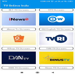 Tv Channel Indonesia for PC-Windows 7,8,10 and Mac apk screenshot 3