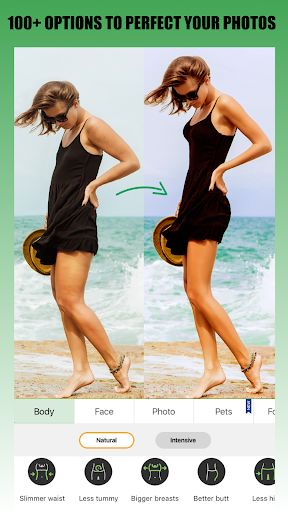 Image of Retouch Me u2013 Body editor & Face tune & Skinny app 4.33 1