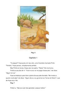 Novas Aventuras do Rei Leão - náhled