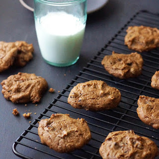 Vegan Chickpea Chocolate Chip Cookies.
