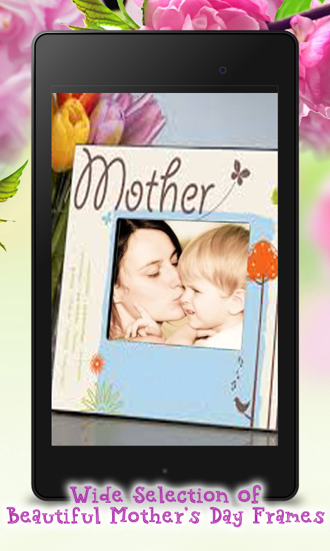 mothers day photo frame maker screenshot - Mothers Day Picture Frame