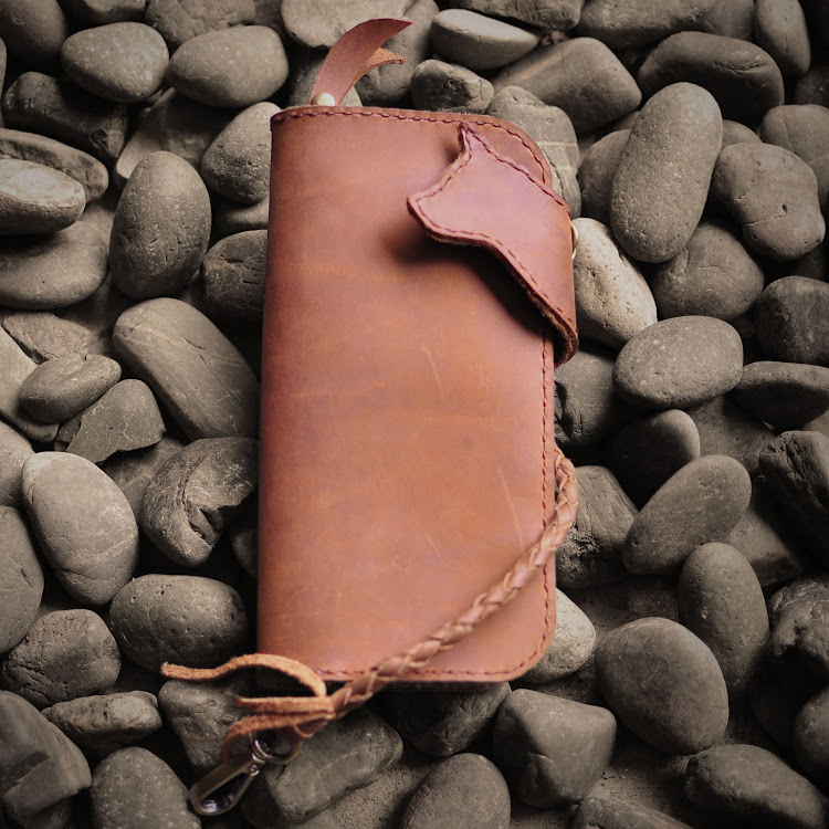 Ahumpriew Wallet - Saddle Brown by Rocking Dog by Pipit Zakka Store