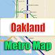 Oakland USA Metro Map Offline APK