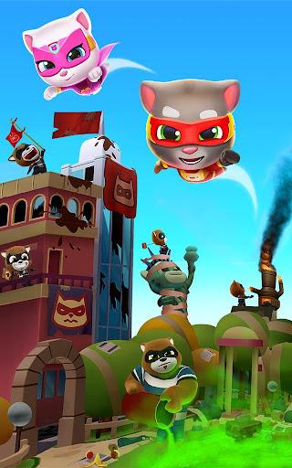 Talking Tom Hero Dash - Run Game screenshot 13