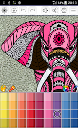 Mandalas coloring pages (+200 free templates) APK screenshot thumbnail 6