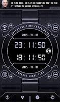 Screenshot of UTC-GMT-ZULU Time