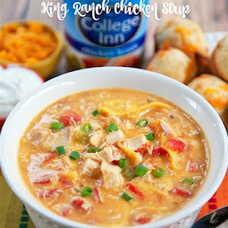 King Ranch Chicken Soup.