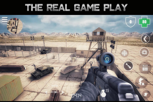 MazeMilitia: LAN, Online Multiplayer Shooting Game 3.2 Screenshots 1