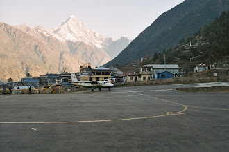 Photo: Geschafft es folgt der abenteuerliche Rückflug nach Kathmandu