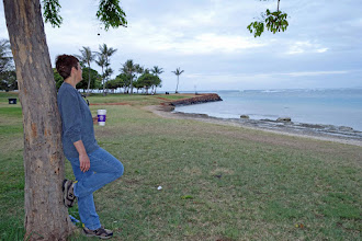 Photo: Lovely Ala Moana park, Waikiki, we'll be on our way to Brisbane later this morning!