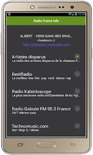Radio France Info - náhled