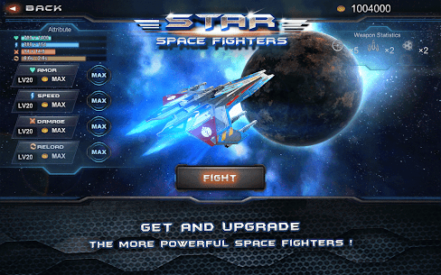 Galaxy War Fighter Mod Apk (Unlimited Money) 1