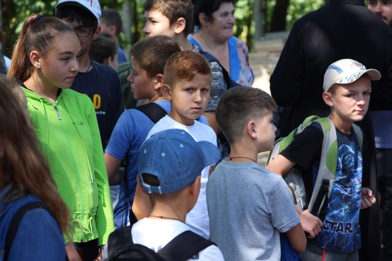 Открытие смены лагеря Православная Гагаузия в Комрате