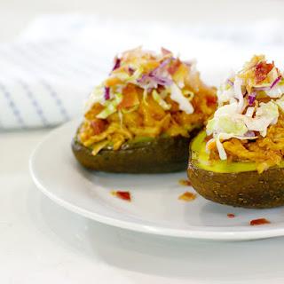 BBQ Chicken Avocado Boats