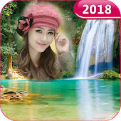 Waterfall Photo Frames - Latest Photo Frames 2018