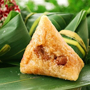 【NEW】咸蛋黄腊肠粽子 Pork Sausage & Salted Duck Egg Zongzi