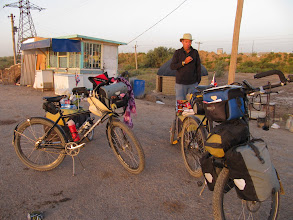 Photo: Day 159 - Stopped for the Night in a Yurt - 18Kms Before  Hauz-Han #3