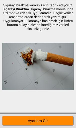 Sigarayı Bıraktım