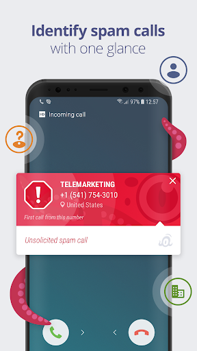OctoCaller: Call Protect & Spam Blocker Free by Master App Solutions