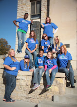 """Photo: """"Movers and Shakers"""" volunteers."""