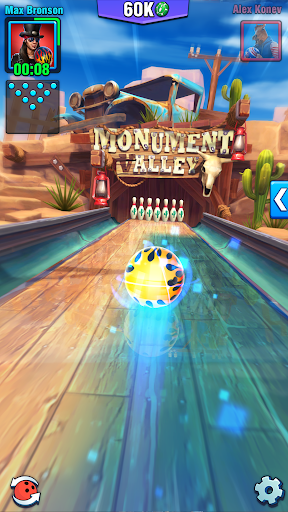 Bowling Crew — 3D bowling game apkbreak screenshots 1