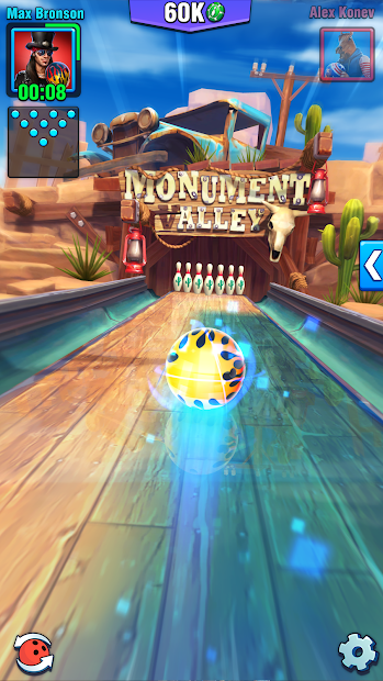 Bowling Crew — 3D bowling game Android App Screenshot