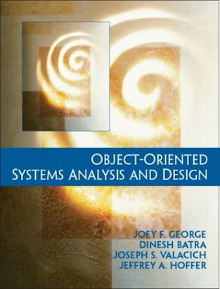 B482 Book Free Pdf Object Oriented System Analysis And Design By Joey F George Dinesh Batra Joseph S Valacich Jeffrey A Hoffer