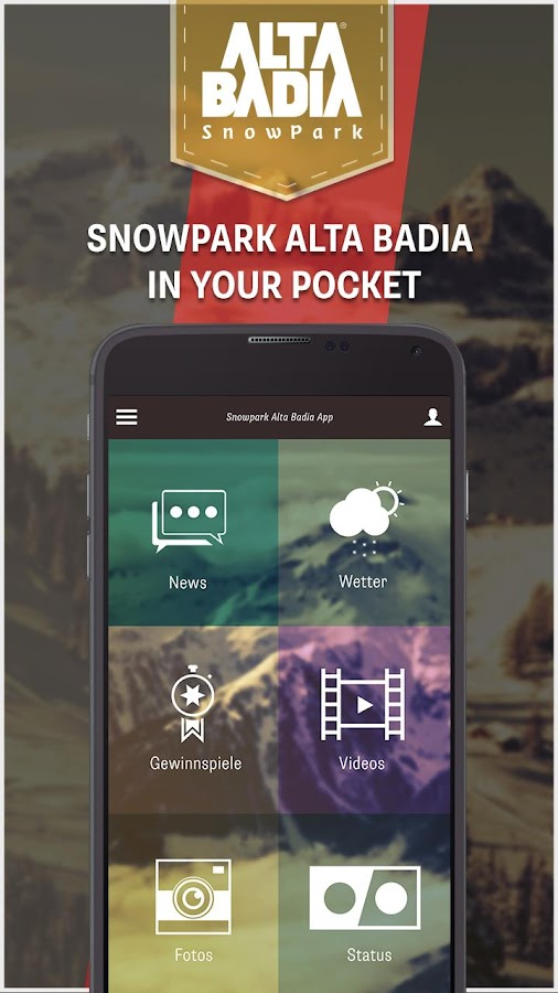 Snowpark Alta Badia – Screenshot