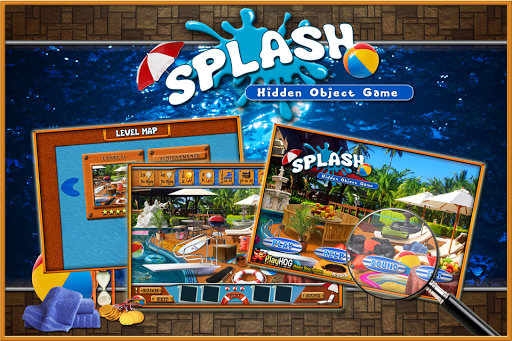 Splash Look and Find Objects