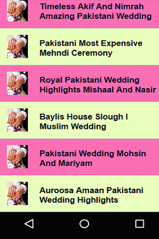 Pakistan Wedding Songs Screenshot