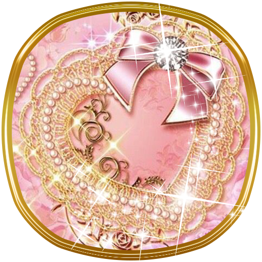 Golden Bowknot Diamond theme