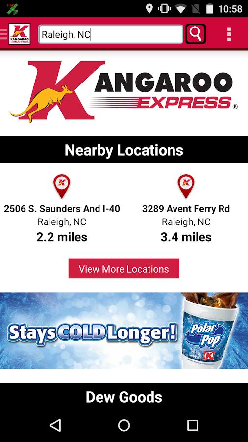 Kangaroo Express- screenshot