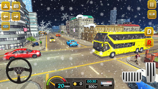 Modern City Bus Drive Parking Games-WG Bus Game 1.18 screenshots 6