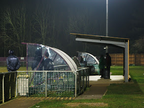 Photo: 31/01/12 v Bedfont Town (Southern League Central Div) 0-2 - contributed by Leon Gladwell