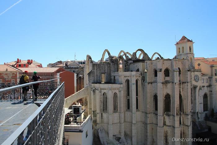 Монастырь кармелиток в Лиссабоне