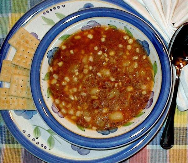 Hamburg Soup Recipe
