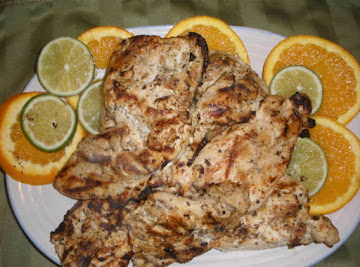 Grilled Mexican Citrus Chicken Recipe