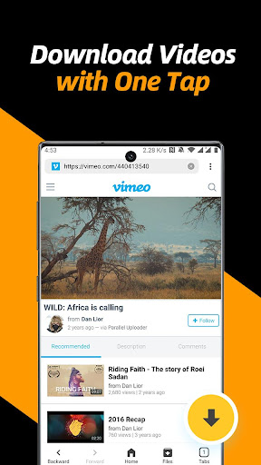 Video Downloader, Private File Downloader & Saver screenshot 2