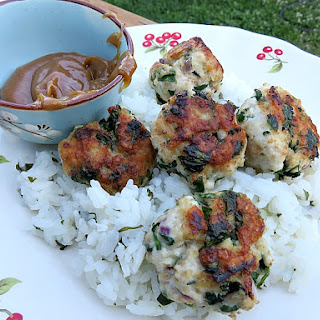 Meatballs with Sweet Peanut Sauce