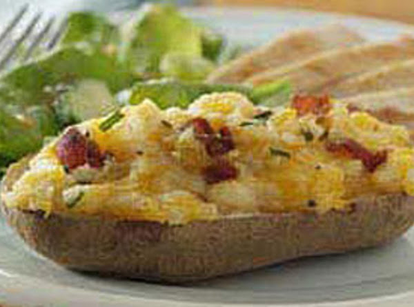 Everything Better With Bacon Cheesy Stuffed Tatoes Recipe
