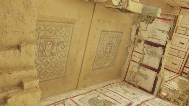 Photo: mosaics and frescoes
