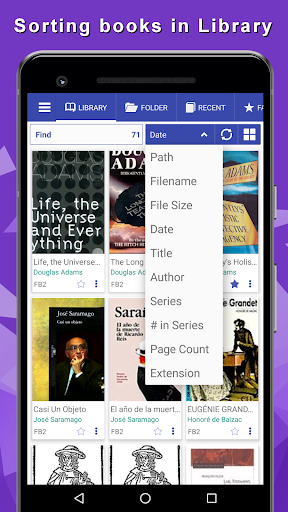 Librera - reads all books, PDF Reader 8.3.100 screenshots 12