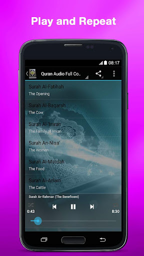 Al Quran MP3 (Full Offline) 3.3 screenshots 2