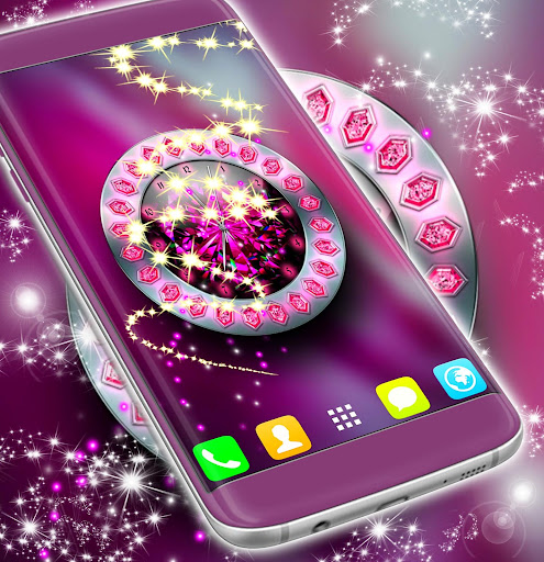 download crystal clock live wallpaper for pc