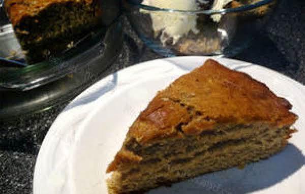 Banana Spice Snack Cake
