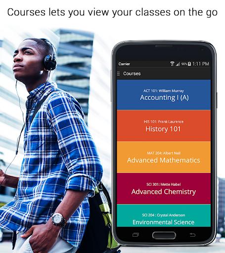 LearningStudio Courses - Phone