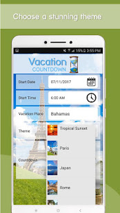 App Vacation Countdown App APK for Windows Phone