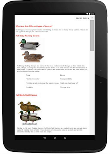 Duck Hunting App With Diagrams- screenshot thumbnail