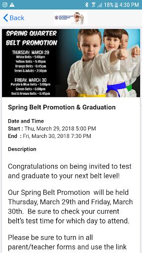 US World Class Taekwondo 4.1.0 screenshots 4