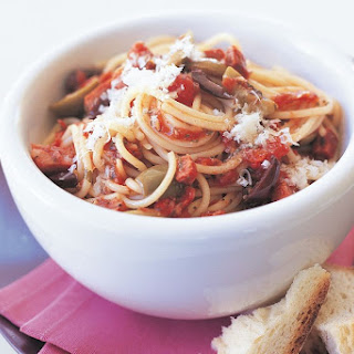 Pasta With Salami And Olives